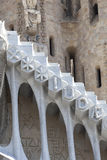 Details of Sagrada Familia- designed by Gaudi, Barcelona, Spain Stock Photos