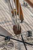 Sailboat details royalty free stock photography