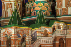 Details of Saint Basils Cathedral Royalty Free Stock Photos