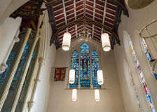 Details of Saint George Chapel in Toronto Royalty Free Stock Photo