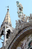 Details of Saint Marks Basilica in Venice, Italy Royalty Free Stock Photo