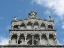Details of Saint Michael, Lucca Stock Photography