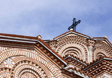 Details of Saint Panteleimon church in Ohrid Stock Photos