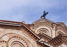 Details of Saint Panteleimon church in Ohrid Stock Photos