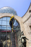 Details from Salvador Dali  Museum in Figueras Stock Images