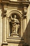 Details of San Domenico Church in Modica Royalty Free Stock Photo