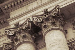 Details of San Giovanni in Laterano cathedral Royalty Free Stock Photography