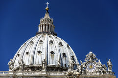 Details of san pietro Dome Royalty Free Stock Images