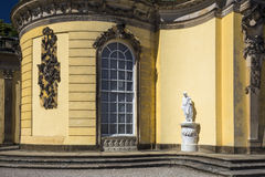 Details of Sanssouci Palace in Potsdam, near Berlin Royalty Free Stock Images