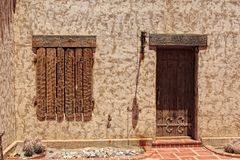 Details of Scotty's Castle Stock Image