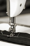 Details of sewing-machine Stock Image