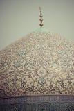 Details of Sheikh Lotfollah Mosque in Isfahan, Iran Stock Photos