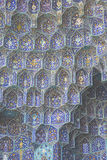 Details of Sheikh Lotfollah Mosque in Isfahan, Iran Stock Images