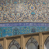 Details of Sheikh Lotfollah Mosque in Isfahan, Iran Royalty Free Stock Image