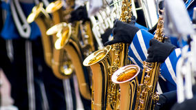 Details from a showband Stock Image