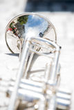 Details from a showband, fanfare our drumband Stock Images