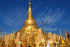 Details of the Shwedagon Paya, in Yangon, Myanmar (or Burma) Royalty Free Stock Image
