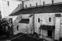 Details of side walls of Basilica di Aquileia Stock Photos