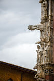 Details of Siena` Cathedral  ,Duomo di Siena Stock Photography