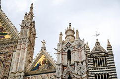 Details of Siena` Cathedral  ,Duomo di Siena Royalty Free Stock Photography