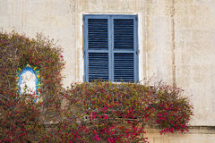 Details of the silent streets of the old town Mdina Stock Photos