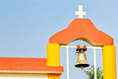 Details of small orthodox church Stock Photos