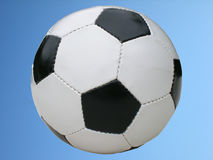 Details of soccer ball Stock Photography