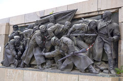 Details of Soviet Army monument Royalty Free Stock Photography