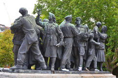 Details of Soviet Army monument Royalty Free Stock Photos