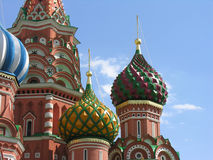 Details of St. Basil Cathedral Stock Photos