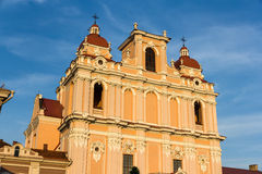 Details of St. Casimir church in Vilnius Stock Photography