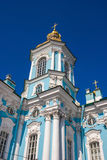 Details of St Nicholas Naval Cathedral 1 Stock Image