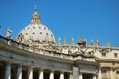 Details of St. Peter's Basilica, Vatican Stock Images