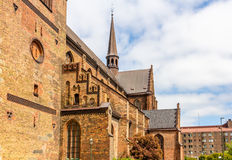 Details of St Petri Cathedral in Malmo Stock Image