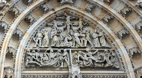 Details of St. Vitus cathedral, Prague Royalty Free Stock Photography