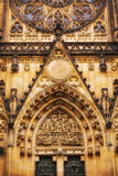 Details of St. Vitus Cathedral in Prague Royalty Free Stock Photography