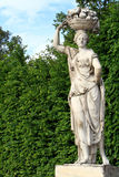 Details Of Statue,Vienna. Details of statue in garden of the Schonbrunn Palace,Vienna,Austria Stock Image