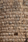 Details, stone of the Hellenistic gate  in the ancient Greek cit. Y of  Perge,  Turkey Stock Image