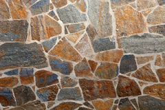 Details of a stone wall Stock Photography