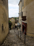 Details of the streets of sant Emilion in France Royalty Free Stock Images