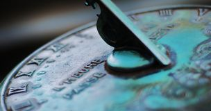 Details of sundial Royalty Free Stock Photo