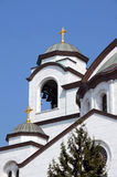 Details of Sveti Sava cathedral in Belgrade Royalty Free Stock Photography