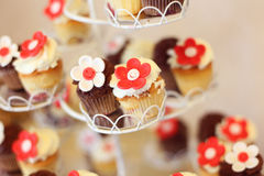 Details of sweets with selective focus Royalty Free Stock Images