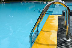 Details of the swimming pool Stock Image