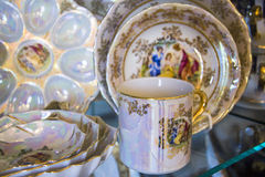 Details of tableware Royalty Free Stock Photos