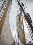 Details of a tall ship Royalty Free Stock Photography