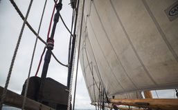 Details of a tall ship Royalty Free Stock Images