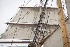 Details of a tall ship Royalty Free Stock Photos
