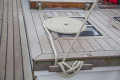 Details of a tall ship Stock Image