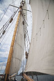 Details of a tall ship Stock Images